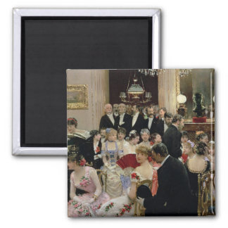 The Soiree, c.1880 Magnet