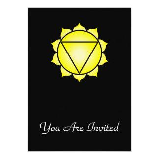 The Solar Plexus Chakra Card