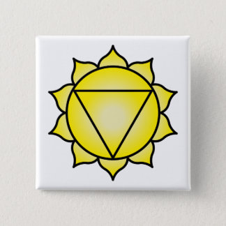 The Solar Plexus Chakra Pinback Button