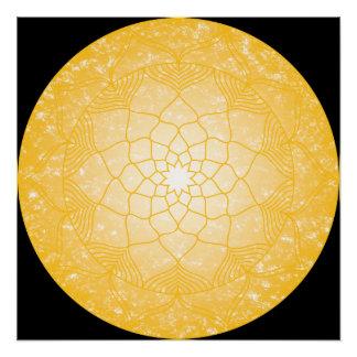 The Solar Plexus Chakra Poster