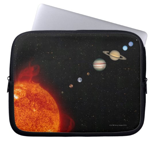 The Solar System 2 Laptop Computer Sleeve