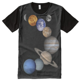The Solar System All-Over-Print T-Shirt