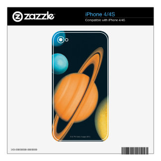 The Solar System Decals For The iPhone 4