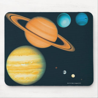 The Solar System Mouse Pad