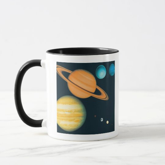 The Solar System Mug