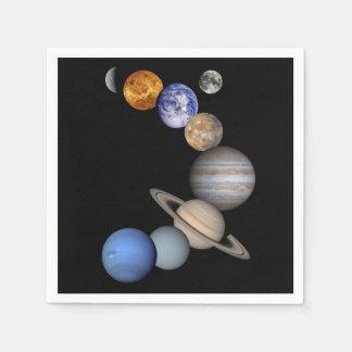 The Solar System Napkin