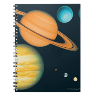 The Solar System Spiral Notebooks