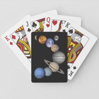 The Solar System Poker Deck