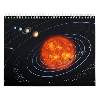 The Solar System - Planet by Planet Calendar