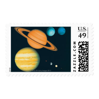 The Solar System Stamp