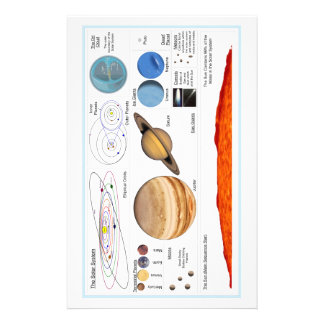 The Solar System Stationery