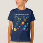 """The Solar System T-Shirt<br><div class=""""desc"""">How do you raise a smart child? How do you raise a happy child? Just love them and play with them! Learning Candy designed its Learnware to incorporate teaching and bonding with your little one in Your Everyday Life. On the go -- anywhere! Learning Candy brings forth more opportunities for...</div>"""