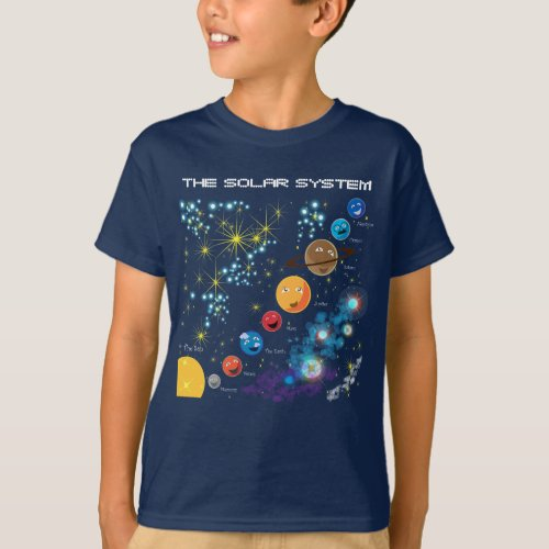 The Solar System T_Shirt