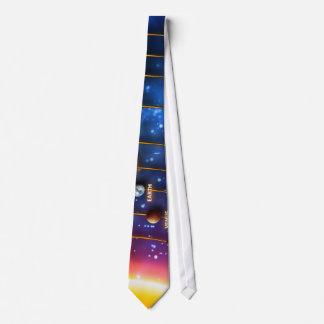 The Solar System Neck Tie