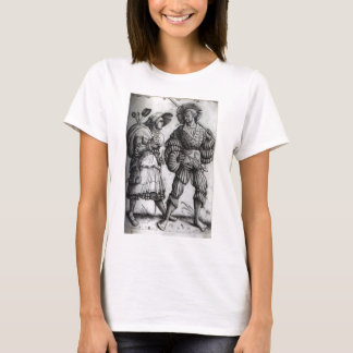 """""""The Soldier and His Wife"""" - Landsknecht T-Shirt"""