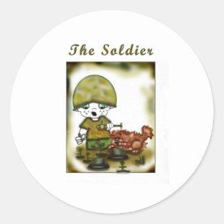 The Soldier Classic Round Sticker