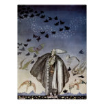 The Soldier Whistled and a Flock of Birds Came Poster