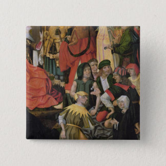 The Soldiers Drawing Lots for Christ's Clothes Pinback Button