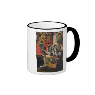 The Soldiers Drawing Lots for Christ's Clothes Ringer Coffee Mug