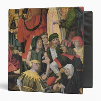 The Soldiers Drawing Lots for Christ's Clothes Vinyl Binder