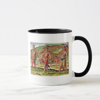 The Soldiers of Outina Marching to Cut Mug