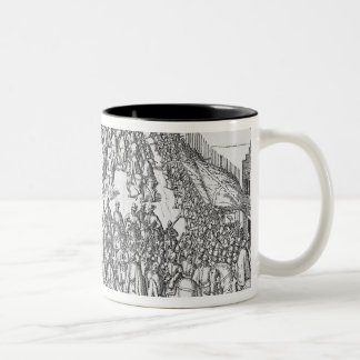 The Solemn entry of Matthias Two-Tone Coffee Mug