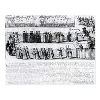 The Solemn Mock Procession Postcard