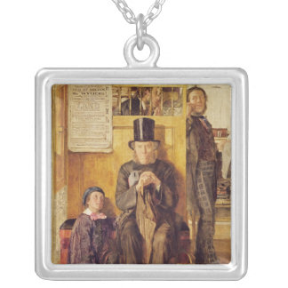 The Solicitor's Office, 1857 Silver Plated Necklace