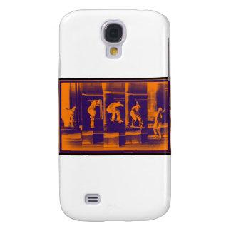 The Solid Orange Galaxy S4 Case