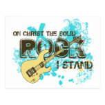 The Solid Rock Post Card