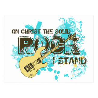 The Solid Rock Postcard
