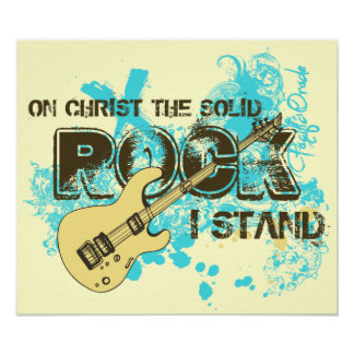 The Solid Rock Poster