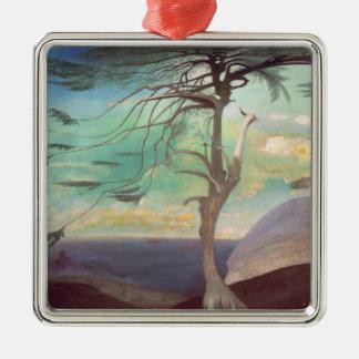 The Solitary Cedar, 1907 Metal Ornament
