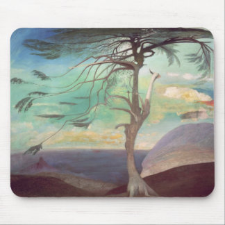 The Solitary Cedar, 1907 Mouse Pad