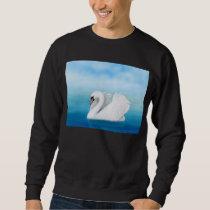 The Solitary Mute Swan Sweatshirt
