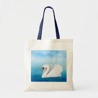 The Solitary Mute Swan Tote Bag