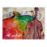 the soloist postcard