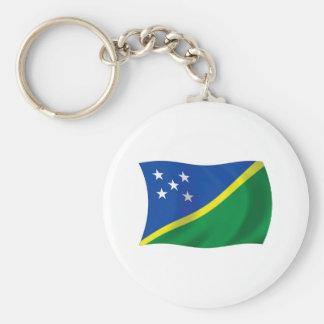 The Solomon Islands Flag Keychain