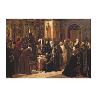 The Solovetsy Monastery's Revolt Stretched Canvas Prints