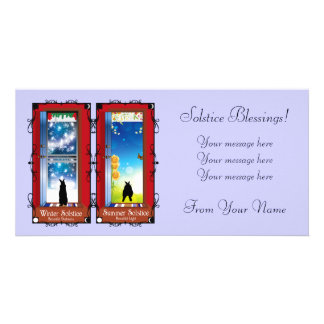 THE SOLSTICES CARD