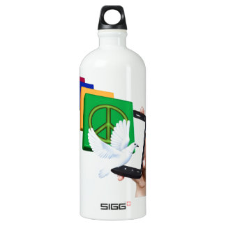 The solution is in our hands SIGG traveler 1.0L water bottle