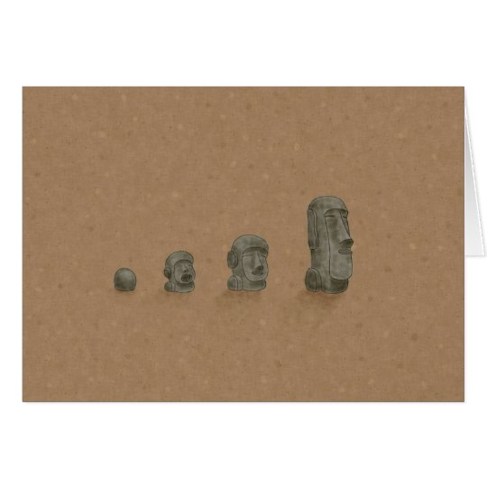 The Solved Mystery of Moai Statues Card