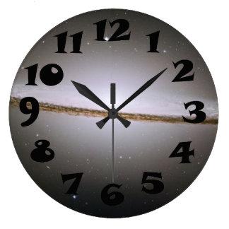 The Sombrero Galaxy Large Clock