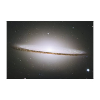 The Sombrero Galaxy M104 NGC 4594 Canvas Print