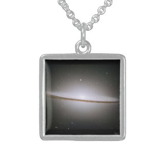 The Sombrero Galaxy Sterling Silver Necklace