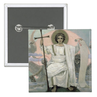 The Son of God - The Word of God, 1885-96 2 Inch Square Button