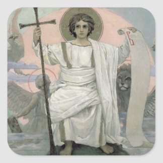 The Son of God - The Word of God, 1885-96 Square Sticker