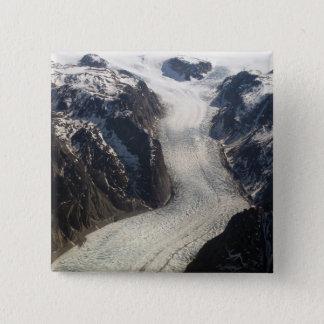 The Sondrestrom Glacier in Greenland Pinback Button