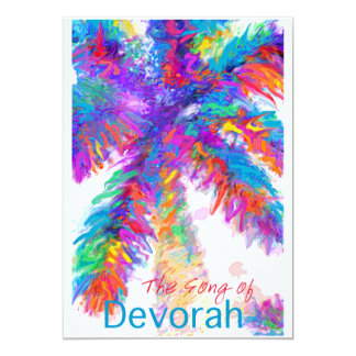 The Song of Devorah. Proceeds to charity Card
