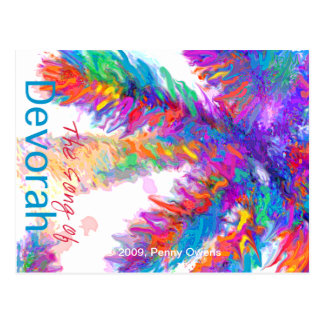 The Song of Devorah.  Proceeds to Charity Postcard